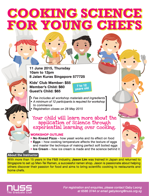 Cooking Science For Young Chefs